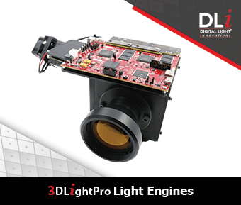 Digital Light Innovations Graphic: 3DLightPro Light Engines