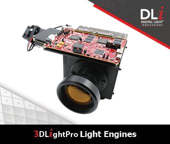 Digital Light Innovations Graphic: 3DLightPro Light Engines