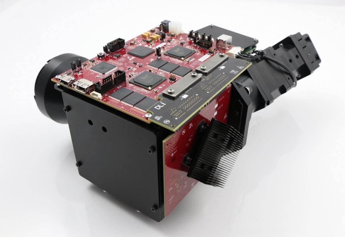 3DLP9000 Light Engine (Back)