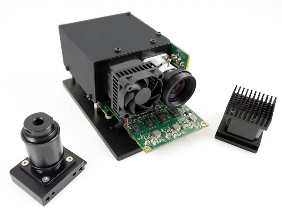CEL5500-LED w/Fiber Assembly (Side)