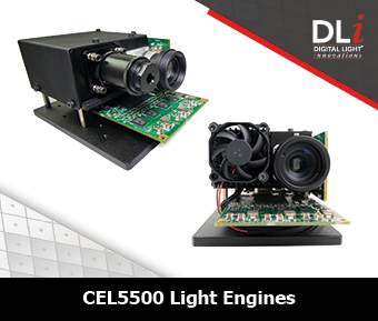 Digital Light Innovations Graphic: CEL5500 Light Engines