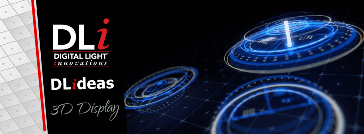 DLi Graphic Website DLideas 3D Display