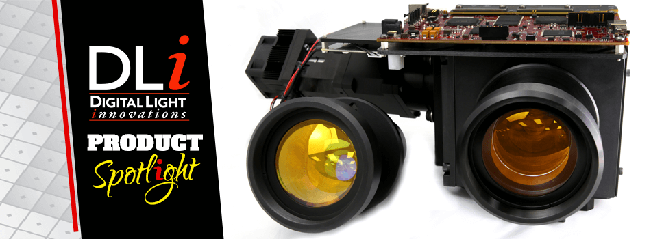 DLi Graphic Website Product Spotlight 30um Projection Lens Sneak Peek