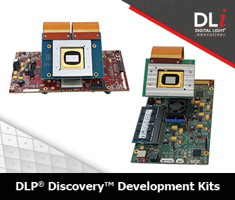 Digital Light Innovations Graphic: DLP Discovery Development Kits