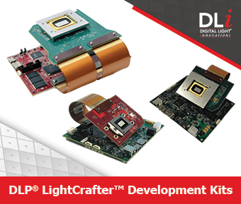DLP LightCrafter Development Kits Box