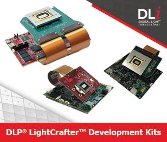 DLP LightCrafter Development Kits Box