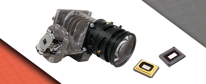 DLP LightCrafter Optics Modules Header